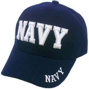 NAVY SEALS ARMED FORCES MILITARY BLUE WHITE HAT CAP
