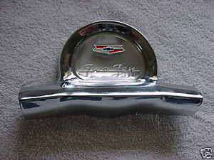 1957 57 CHEVY CHEVROLET 210 STEERING WHEEL HORN CAP