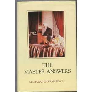 The Masters Answers: Maharaj Charan Singh: Books