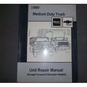 1989 GMC MEDIUM DUTY TRUCK Repair Service Shop Manual OEM