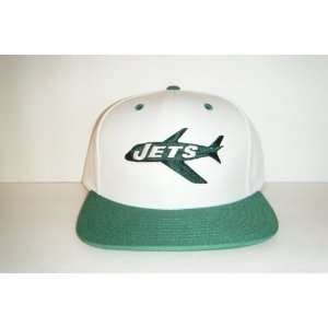 New York Jets NEW Vintage Snapback Hat Sports & Outdoors