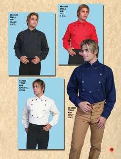 542600 Wahmaker Bib Western Cowboy Shirt 2X SASS Black |