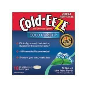 COLD EEZE LOZ,MINT FROST pack of 7 Health & Personal Care
