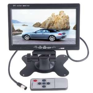 7 inch TFT Color LCD Car Rear View Camera Monitor Support