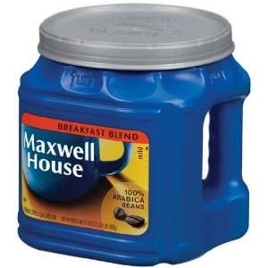 Maxwell House Coffee Breakfast Blend Ground Mild   6 Pack
