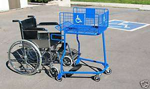 Handicap Meal Grocery Shopping Cars, Marke Carriage |
