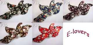 Colourful Girls Shine Flower hair Clip Accessory F12 16