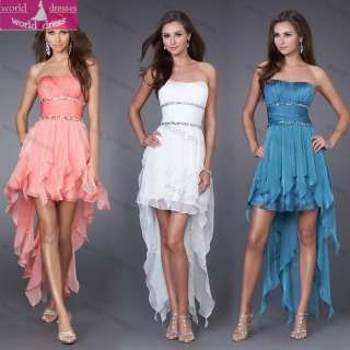Bridesmaid Prom party cocktail homecoming Mini dresses