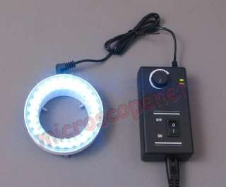 54 LED Ring Light w Metal Frame for Stereo Microscopes