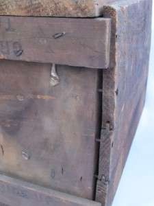 Box Old Antique Wood Country Farm Barn Tool Box Columbus OH