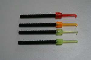 FIBEROPTIC REPLACEMENT PINS (4) FOR A RECURVE OR COMPOUND BOW SIGHT
