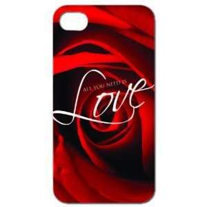Love   iPhone Hard Case   White Protective iPhone 4/iPhone 4S Case