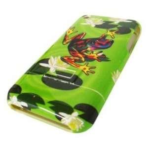 Apple Iphone 2g Original Green Frog Forrest Design Case