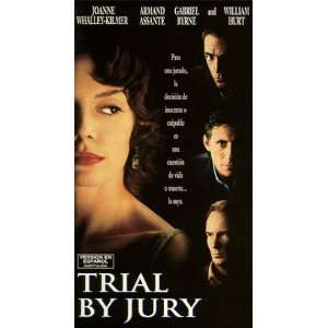 Trial By Jury [VHS]: Joanne Whalley, Armand Assante