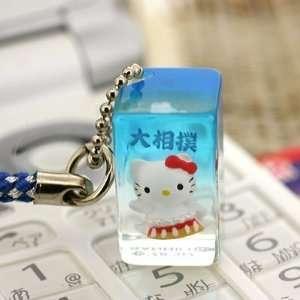 Sanrio Hello Kitty Grand Sumo Wrestler Netsuke Cell Phone