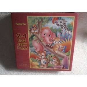 Whimsical Series 24 Piece Jigsaw Puzzle PAINTING PALS