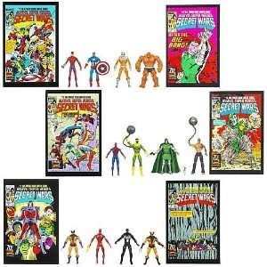 Marvel Universe Action Figure Comic Packs Wave 7 Revision