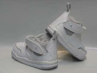 Nike Jordan Courtside White Grey Sneakers Toddlers Sz 7