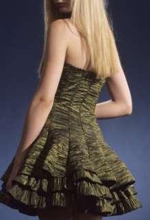 NWT Jessica McClintock 54435 Fuchsia Taffeta Dress 4