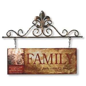 Family Hanging Wall Plaque Catholic Christian Religious Gift Unique