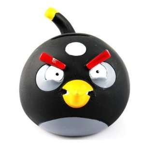 Cute Angry Birds Piggy Bank Money Jar Coin Box S11   Black