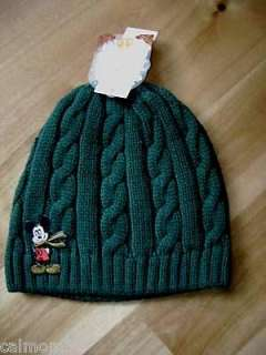 NWT  Disney  Mickey Mouse  Boy S/M knit Winter HAT