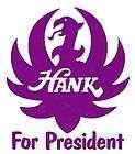 Hank Williams Jr Bocephus For President Vinyl Decal 6W x 7H 12