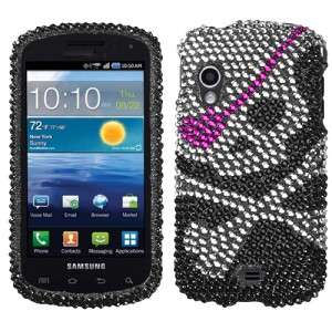 Skull Crystal Diamond BLING Hard Case Phone Cover for Samsung
