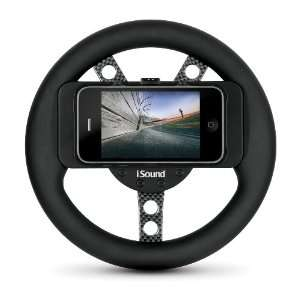 i.Sound Game Wheel for iPod Touch and iPhone (Black)