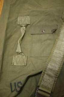 Lot 5 US Army Military Issued Heavy Duty Waterproof Nylon Duffle Bag