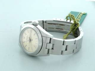 Ladies Rolex Oyster Perpetual Steel Watch 67180