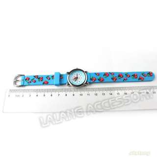 1x New Hotsale Cute Lovely Silicone Children/Kid/Girl Wrist Watch