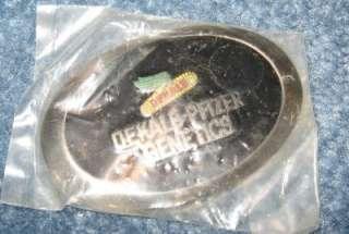 Vintage Dekalb Pfizer Genetics Metal Belt Buckle