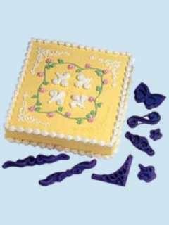 Wilton Cake Designer Pattern Press Set Cake Decorating