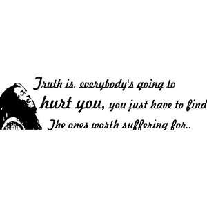 Truth Is Bob Marley Vinyl Wall Art Decal