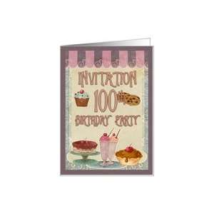 100th Birthday Party   Cakes, Cookies, Ice Cream Card Toys & Games