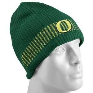 Nike Oregon Ducks Green Sideline Reversible Knit Beanie
