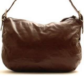 Designer Inspired Brown Sling Handbag Purse Hand Bag