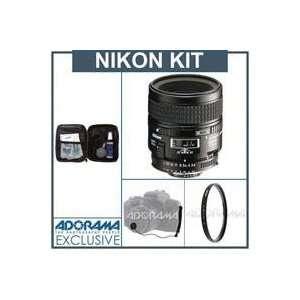 Nikon 60mm f/2.8D AF Nikkor Lens Kit with 5 Year U.S.A