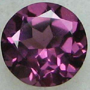Round 5mm Natural Purple Pink Red RHODOLITE GARNET