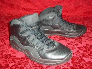 AUTHENTIC Nike Air Michael Jordan Retro 10 X (2005) Black / White