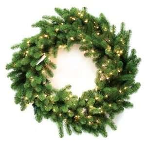 Good Tidings 96332 Wreath Nottingham Pine PVC 100 Clear Lights 240