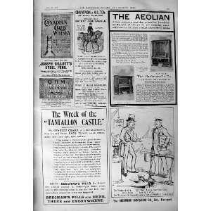 1901 Advertisement Richmond Cavendish Liverpool Beechams