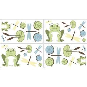 Leap Frog Baby and Childrens Wall Decal Stickers   Set of