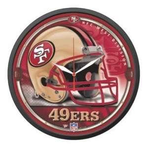 San Francisco 49ers NFL Wall Clock