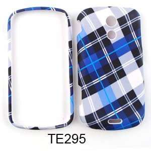 Samsung Epic 4G Blue Plaid Hard Case/Cover/Faceplate/Snap