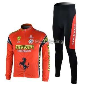 new frra red team long sleeve cycling bicycle/bike/riding jerseys