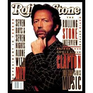 Eric Clapton, 1993 Rolling Stone Cover Poster by Albert Watson (9.00 x
