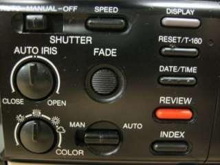 Vintage Rca Pro Edit Vhs Camcorder Model Cc540