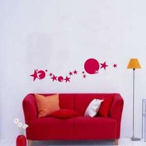 Easy instant decoration wall sticker wall mural  Star